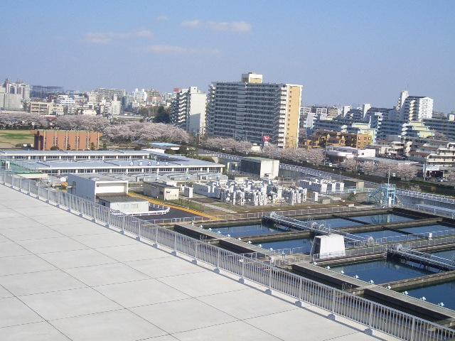 東村山浄水場高度浄水施設の視察...